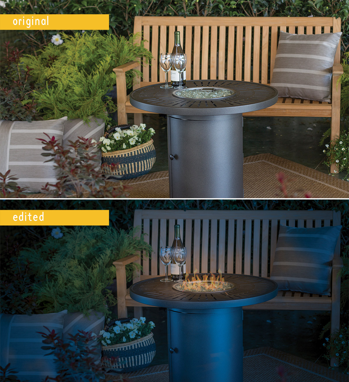 OutdoorLiving - Photoshopping